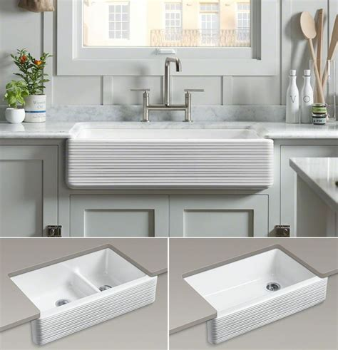 kohler white farmhouse sink best 25 kohler farmhouse sink ideas on