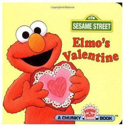 elmo valentines elmo s board book valentines board book and