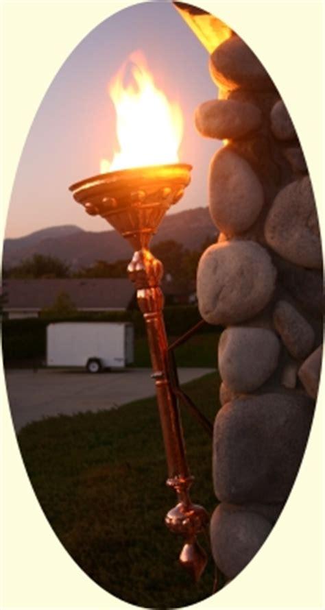 copper torches