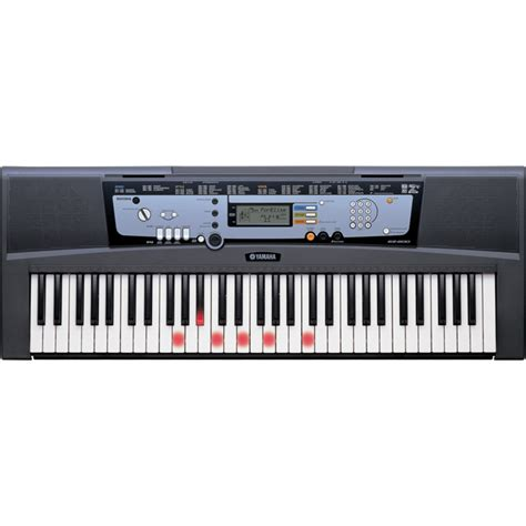 Keyboard Yamaha Di Pontianak Clavier Yamaha Ez200 61 Touches Lumineuses 224 Gear4music