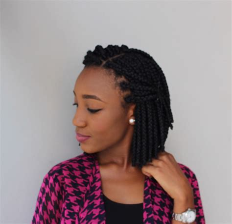 short ghana weaving hairstyles oyime s musings bob box braids 3rd time lucky