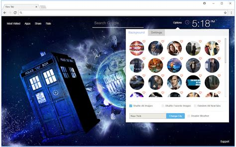 gmail themes doctor who doctor who hd wallpaper new tab themes chrome web store