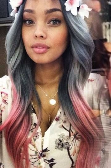 flesh color hair trend 2015 tendencia con mechas de color fotos de los looks 19 40