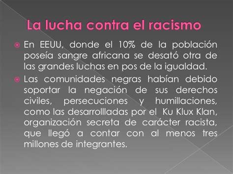 donde se anota para la tarifa social la lucha contra el racismo