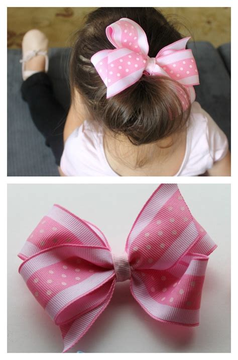 hair bow instructions project make it cozee tutorial how to make big hair bow clips