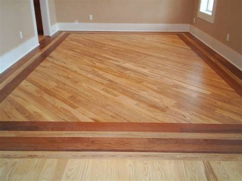 Floor Wooden Borders Remarkable For Wood Hard On Home
