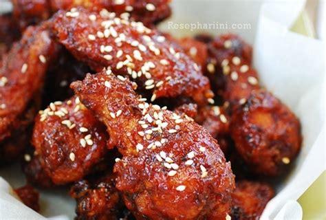 Minyak Wijen Korea 2 ayam goreng korea spicy crispy korean fried chicken