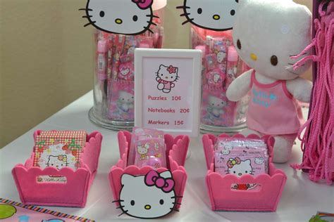 kitty birthday themes hello kitty birthday party ideas photo 12 of 36 catch