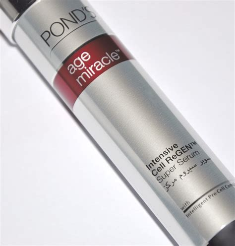Ponds Age Miracle Serum Review huda pond s age miracle intensive cell regen