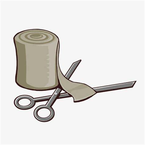 bandage clipart scissors and bandages decoration scissors bandage png