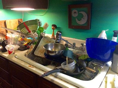 messy kitchen holidays question with boldness