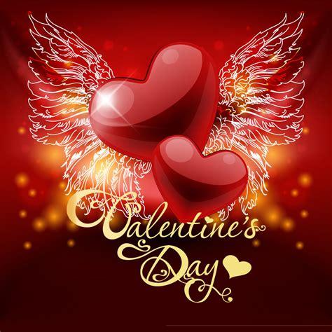 mail chimp s day card template 带翅膀的爱心主题模板下载 图片编号 20140203075835 情人节 节日素材 矢量素材 聚图网