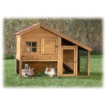 trixie natura pitched roof dog house petco trixie natura two story sloped roof rabbit hutch with run
