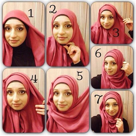 tutorial hijab berkacamata simple pin by marina pillai on accessorize pinterest hijab
