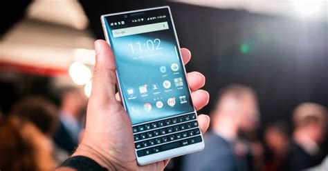 on the blackberry key2 has me unreasonably excited