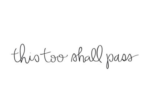 this too shall pass temporary tattoos handlettered script