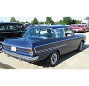 1962 Rambler Ambassador 2 Door Sedan Kenosha Blue S