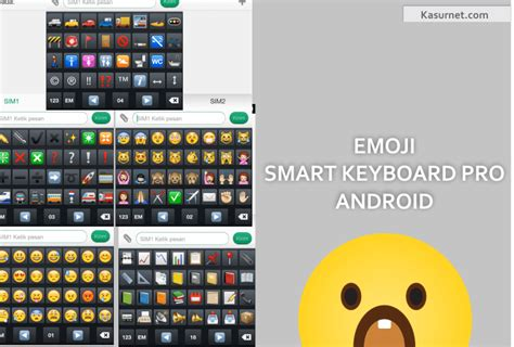 emoji untuk android cara mengaktifkan emoji smart keyboard pro android