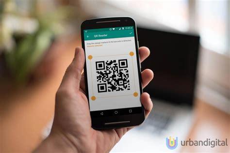 membuat barcode instagram scan qr code dari layar handphone dengan qr reader