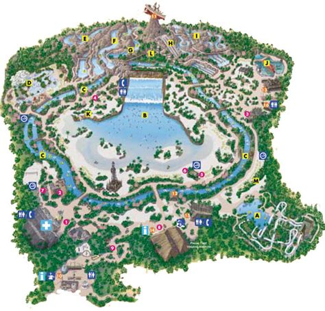typhoon lagoon map sandcastle v i walt disney world photo guide disney s water parks part 1
