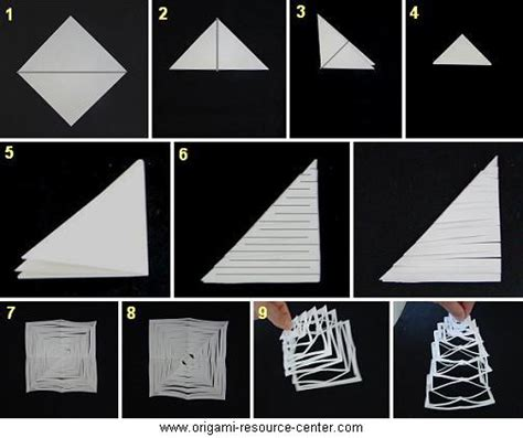 Origami Kirigami - image result for http www origami resource center