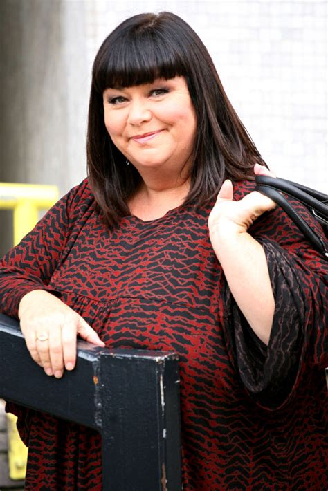 awn french harry potter star dawn french refuses to spill new lover