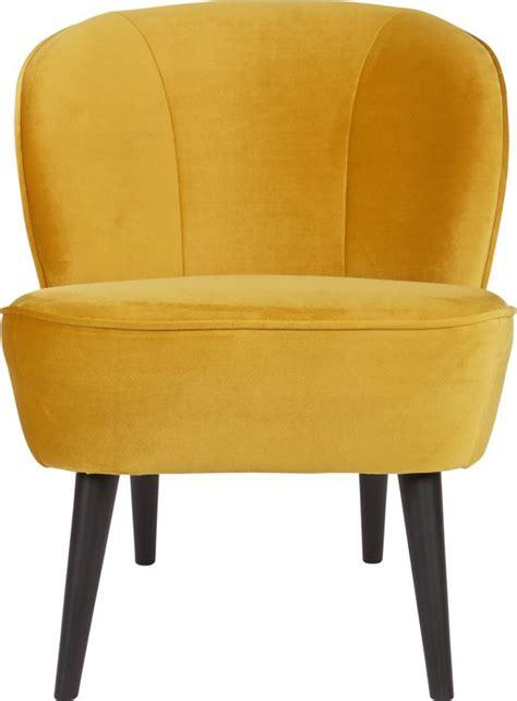 fauteuil oker bol woood sara fauteuil fluweel oker 277 cm