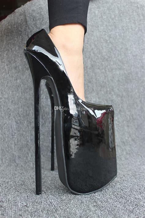 Azm Best Seller High Heels Brukat 12 Cm 2015 12inch heel patent leather high heel 30cm high heel with platform
