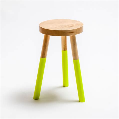 What Does A Yellow Stool by Holy Stool Medium Neon Yellow By Um Project Fab