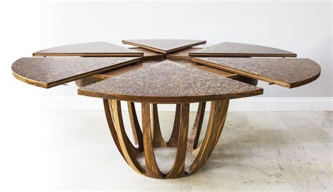 circular oak dining table expanding circular dining table dining tables ideas