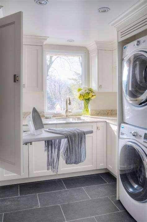 Best Flooring For Laundry Room Laundry Room Design Ideas Grey Floor For The Home