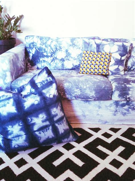 tie dye couch a tie dye sofa the estate of things
