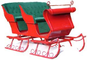 santa s sleigh christmas cards holiday rentals sleighs