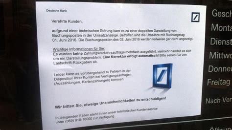 deutsche bank software girokonto wahrscheinlichkeit it st 246 rungen steigt welt