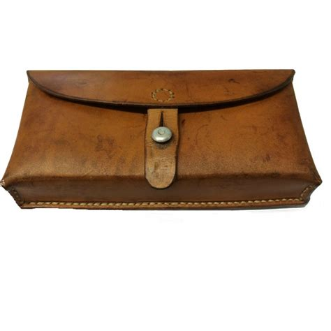 leather pounch ww2 swiss army leather pouch belt pouch ammo pouch