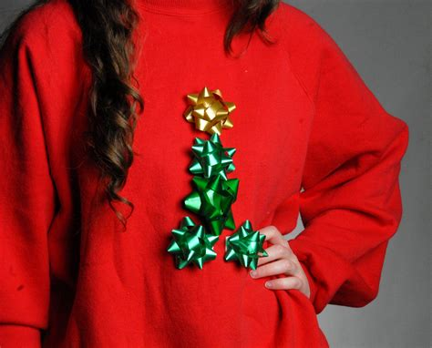 tacky threads make your own ugly christmas sweater