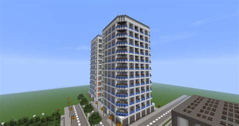 Modern Home Design Tampa by Skyscraper Apartment Complex Minecraft Project