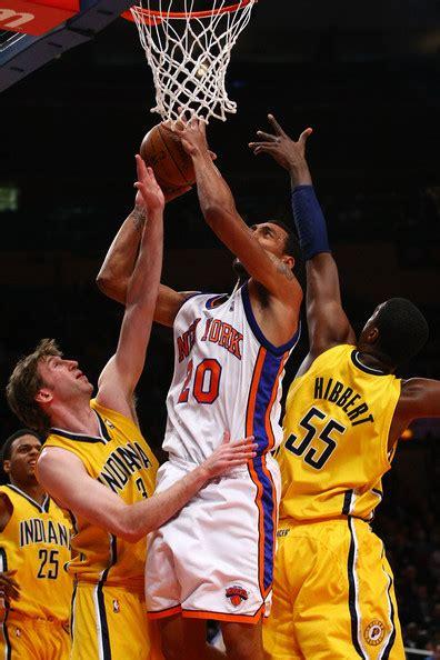 Indiana Pacers Vs New York Knicks 2 by Roy Hibbert And Jared Jeffries Photos Photos Zimbio