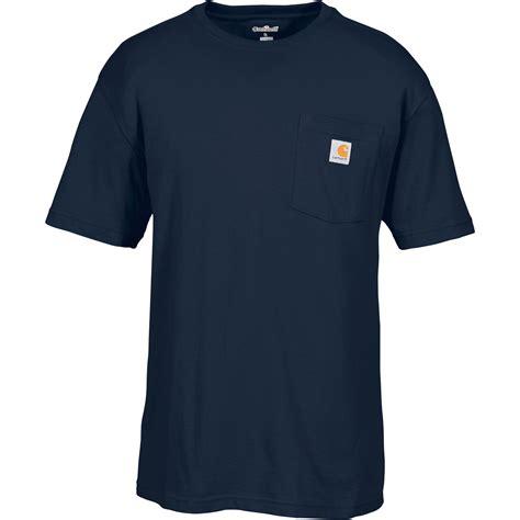 t shirt carhartt logo carhartt s workwear pocket t shirt regular style