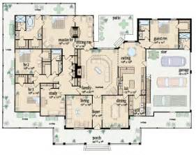 One Floor House Plans With Wrap Around Porch by I Want This First Floor Plan Of Traditional House Plan