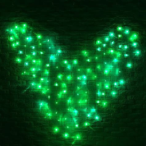 led curtain lights canada 128 led heart shape fairy string curtain light valentine s