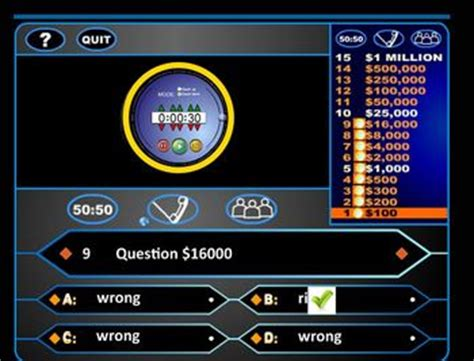who wants to be a millionaire powerpoint template with