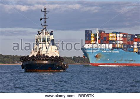 tug boat tow rope tug tow rope stock photo royalty free image 3480676 alamy