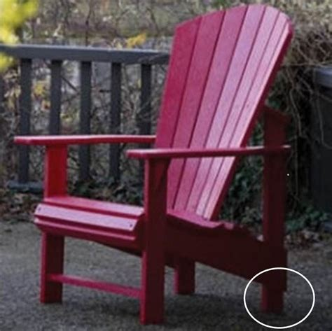 recycled plastic upright adirondack chairs cottagespot recycled plastic adirondack chair upright
