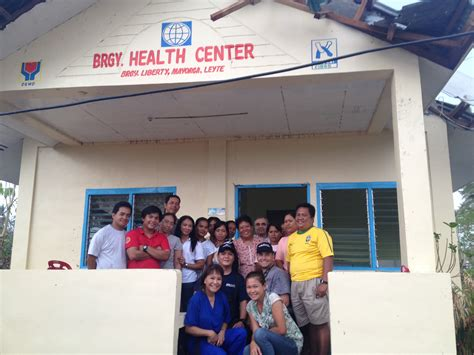 Health Center Photo At Mayorga Barangay Health Center Semper