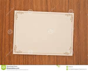 blank invitation card royalty free stock images image 29392319