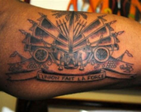 haitian flag tattoo designs haitian flag tattoos flags and haitian flag