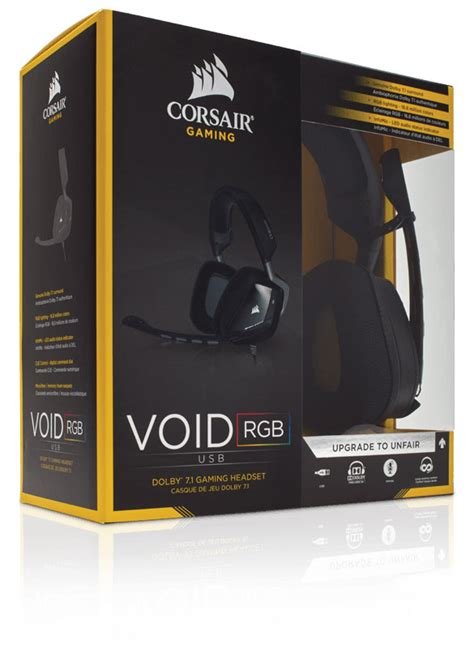Corsair Void Usb Dolby 7 1 corsair void usb dolby 7 1 gaming headset
