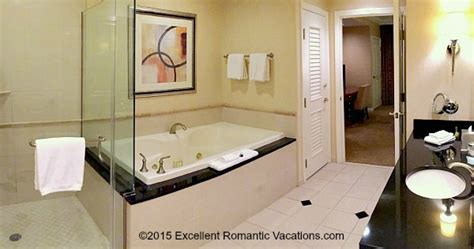 vegas hotels with tubs in room las vegas suite signature at mgm grand las vegas getaways vacations