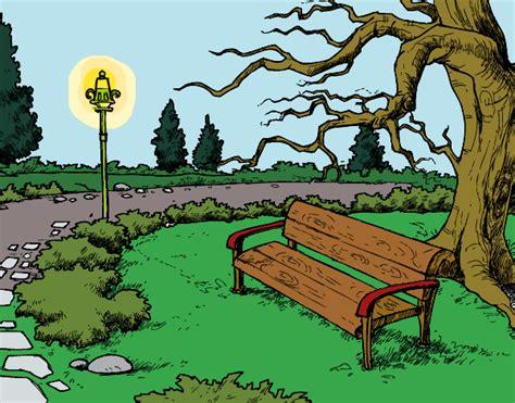 imagenes de paisajes en dibujo dibujo de paisaje de parque pintado por queyla en dibujos